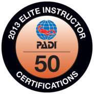 27th April 2014 : PADI Elite Instructor